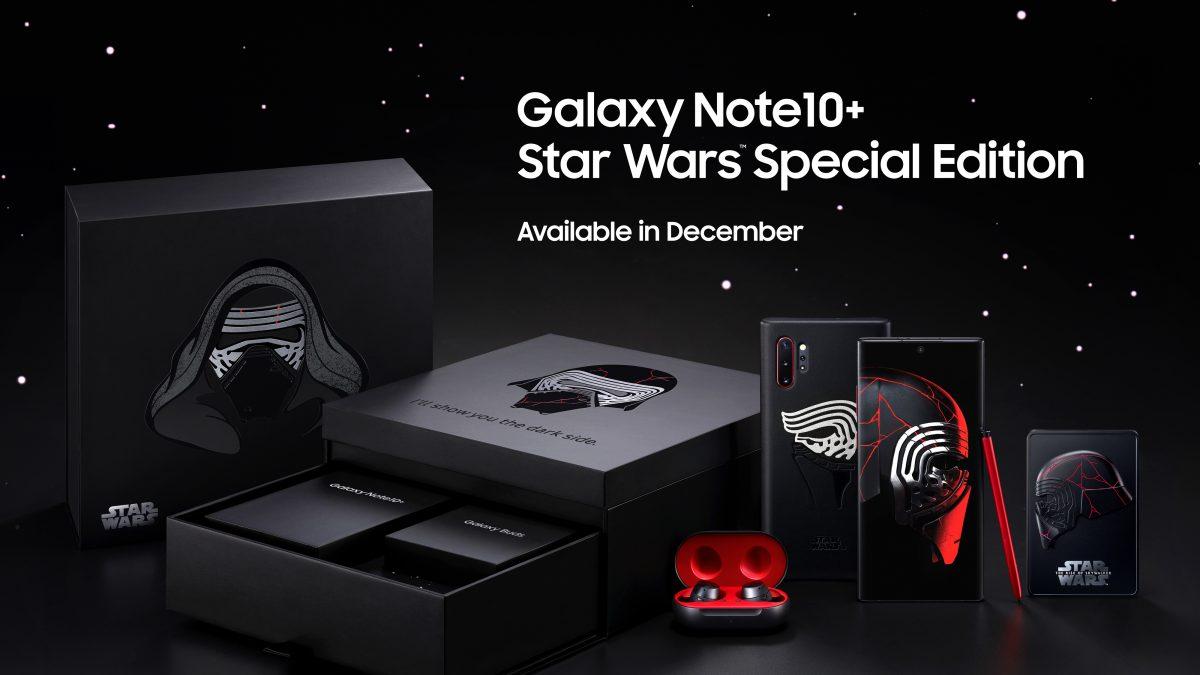 Samsung anuncia un Galaxy Note10+ edición limitada de Star Wars