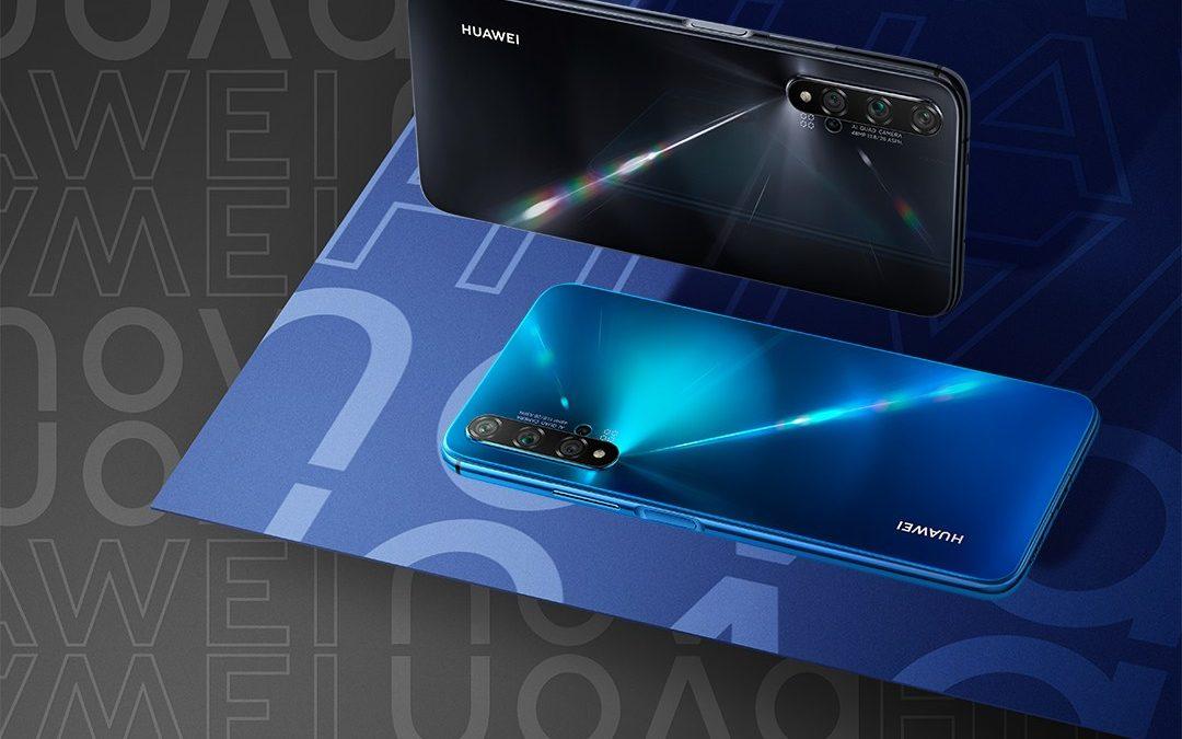 Huawei lanza su nueva serie Nova en Chile con el HUAWEI Nova 5T