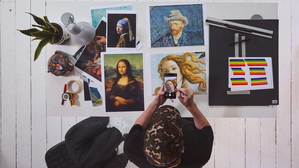 Nociones sobre el Galaxy Note 10 y 10+: Hey Reilly y la intervención de clásicos de la pintura