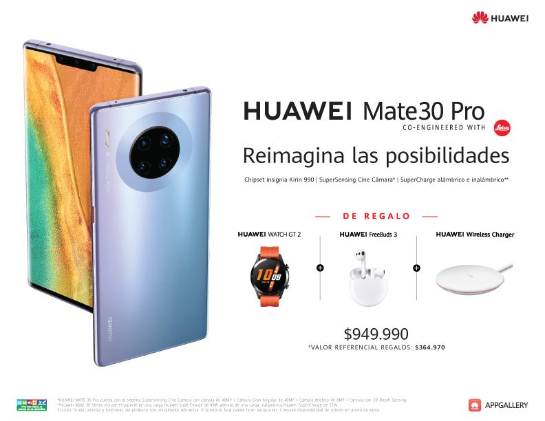 HUAWEI Mate 30 Pro llega al mercado chileno y define su precio de lanzamiento