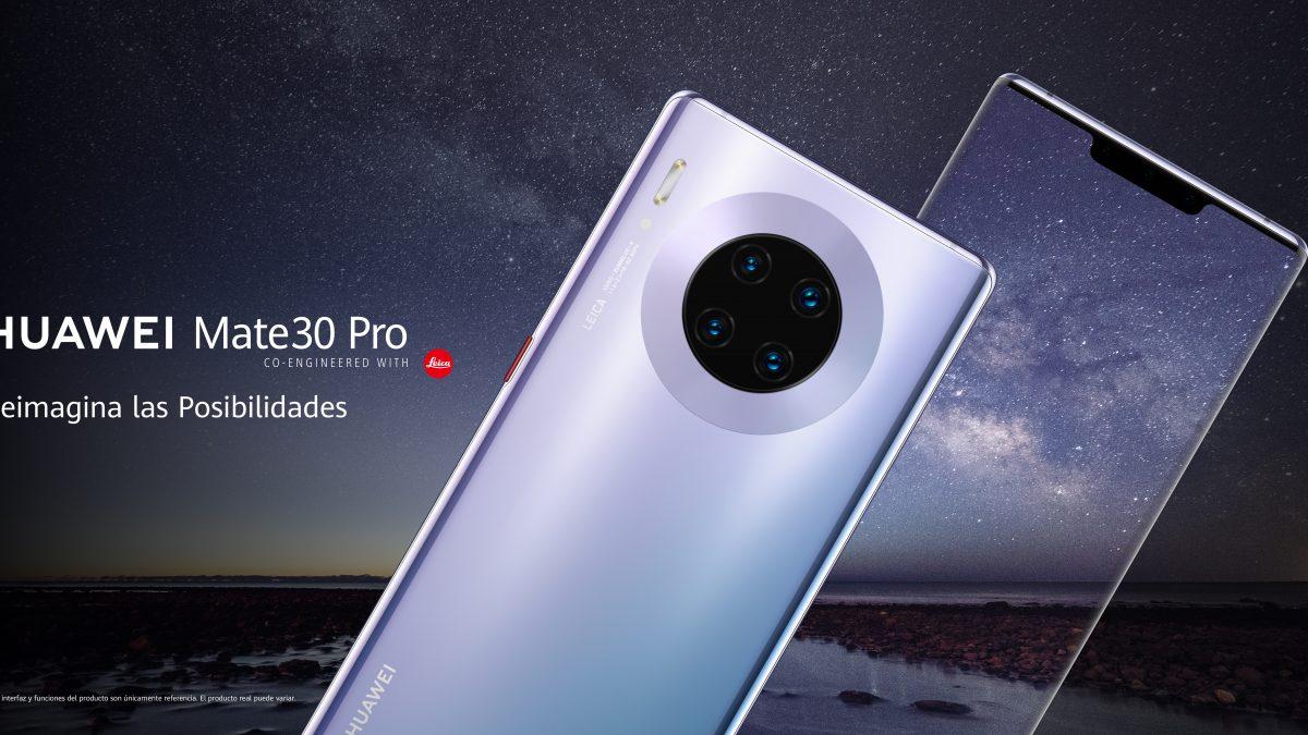 Un mundo de posibilidades con la pantalla del nuevo Huawei Mate 30 Pro