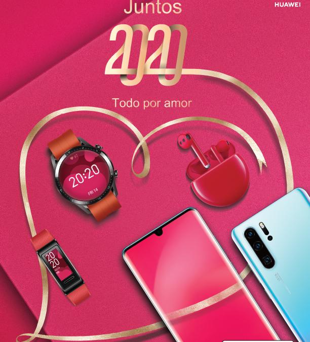 Las increíbles ofertas de Huawei para este Día de los Enamorados
