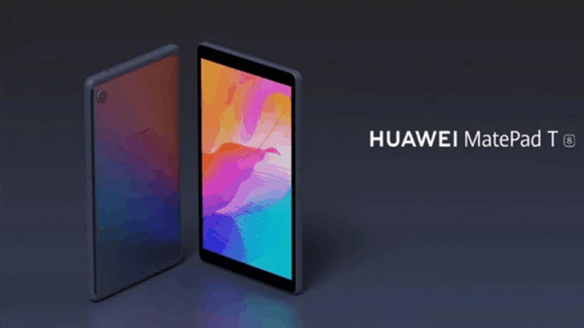 Llega a Chile la MatePad T8: La tablet más económica de Huawei