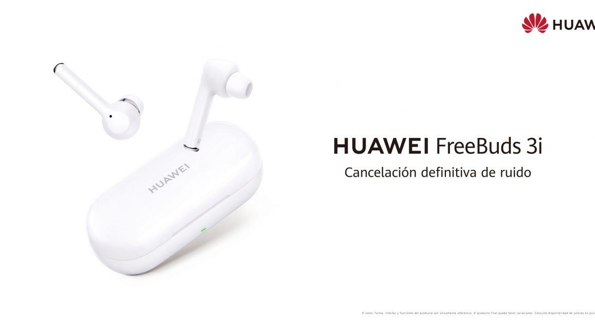 Legan los nuevos HUAWEI FreeBuds 3i: Una experiencia de sonido premium