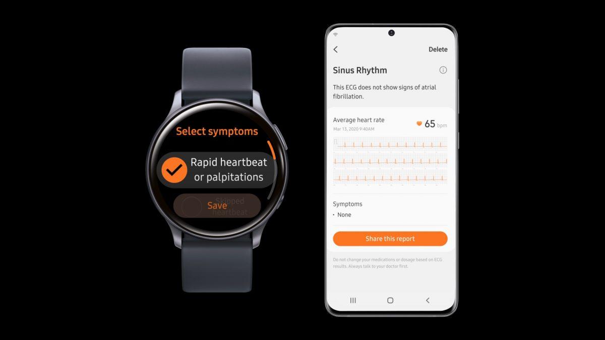 Galaxy Watch Active2 es certificado por Corea del Sur para monitoreo de ECG