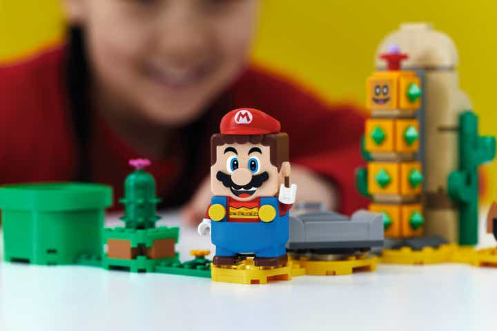 LEGO® Super Mario: Lanzan una nueva experiencia de juego basado en los personajes de Nintendo