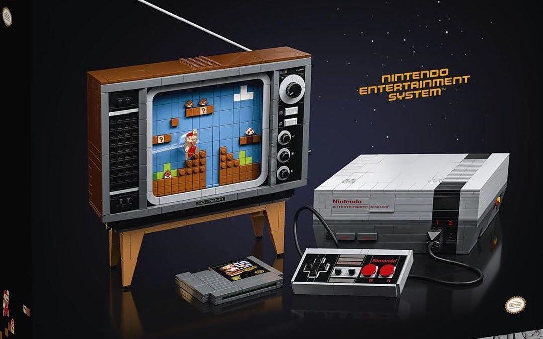 Lego anuncia nuevo set de Super Mario inspirado en la NES