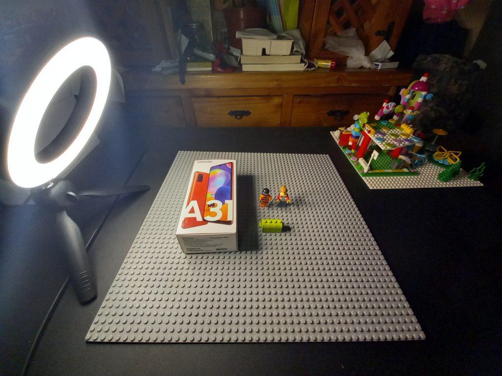 Toma con Modo Panorámico (luz artificial)