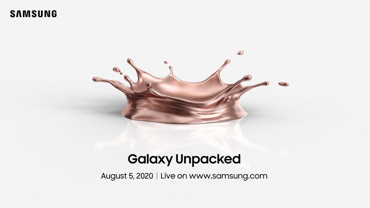 Samsung anuncia nuevos lanzamientos para el 05 de agosto