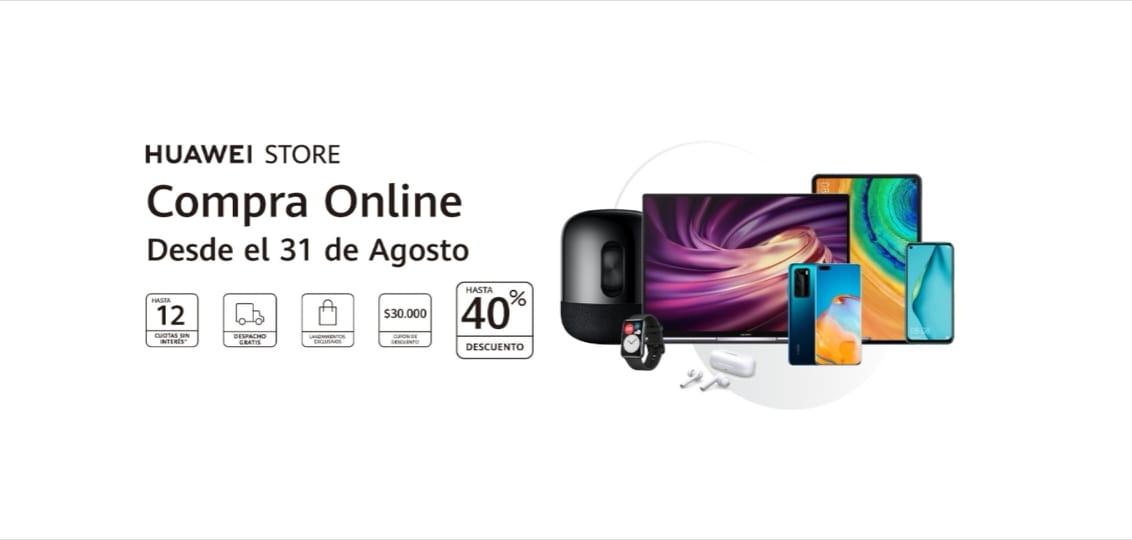 Huawei anuncia el lanzamiento en Chile de su tienda oficial online para el 31 de agosto