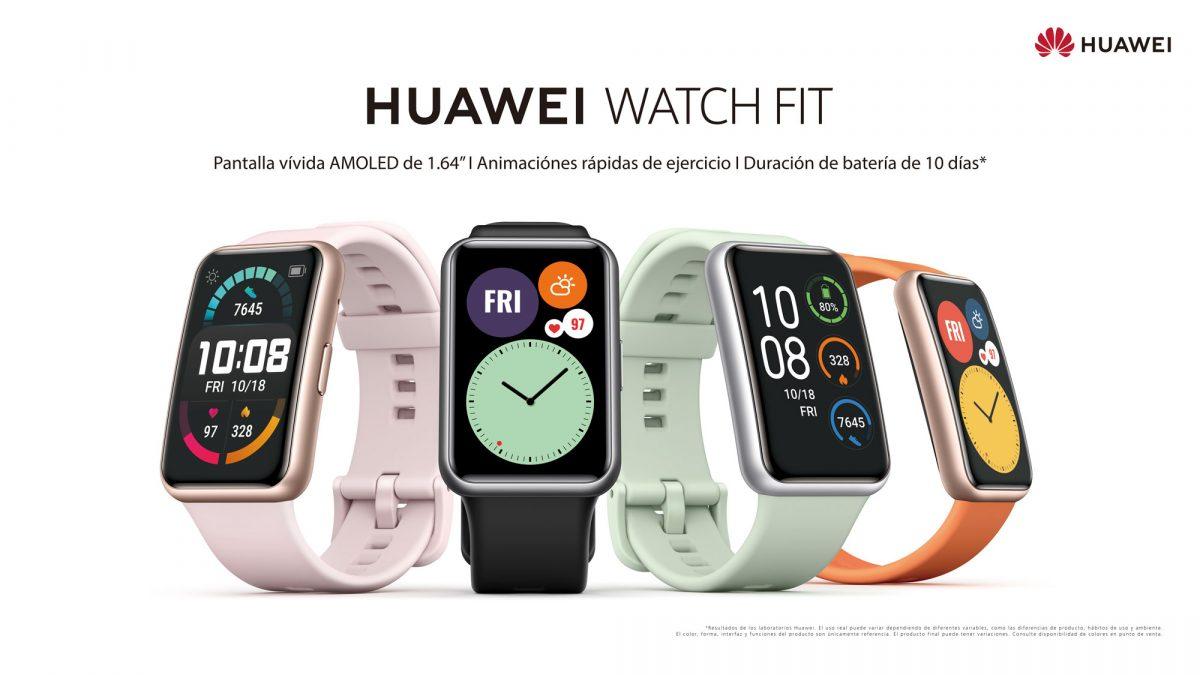 Huawei lanza su nuevo Watch FIT: Un smartwatch de pantalla rectangular y 10 días de autonomía