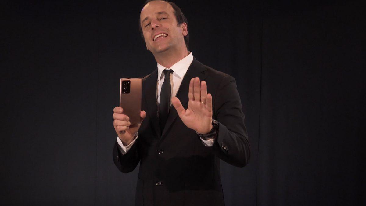 Stefan Kramer presentará show exclusivo para el lanzamientoen Chile deGalaxy Note20 y Note20 Ultra