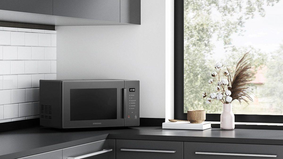 Cocina de manera saludable y fácil con el nuevo Microondas Grill Fry de Samsung