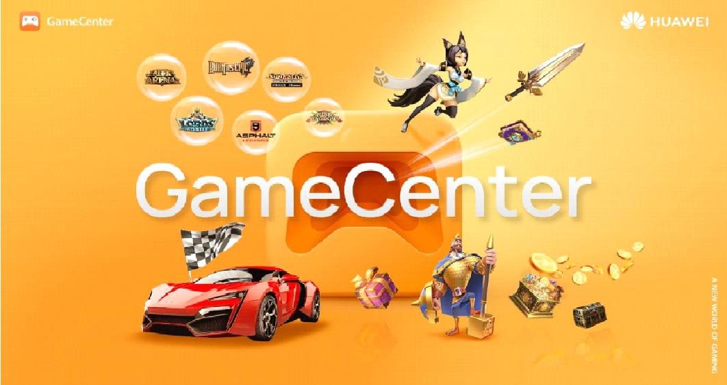 Huawei lanza GameCenter: Un nuevo centro de videojuegos para dispositivos móviles
