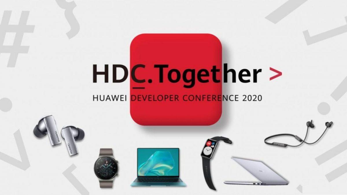 Huawei expande su ecosistema con seis nuevos dispositivos anunciados durante HDC 2020