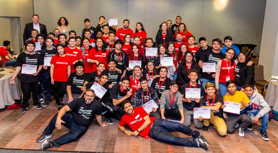Oracle y Liceo Politécnico San Joaquín, utilizan tecnología para desarrollar juegos y combatir COVID-19