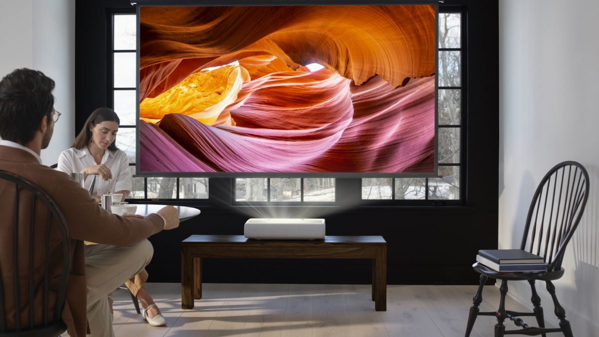 Samsung lanza The Premiere: El proyector láser 4K de alcance ultracorto