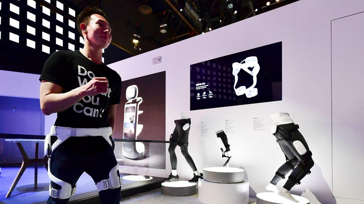 Robot de asistencia personal Gems Hip de Samsung es el primero con certificación de seguridad