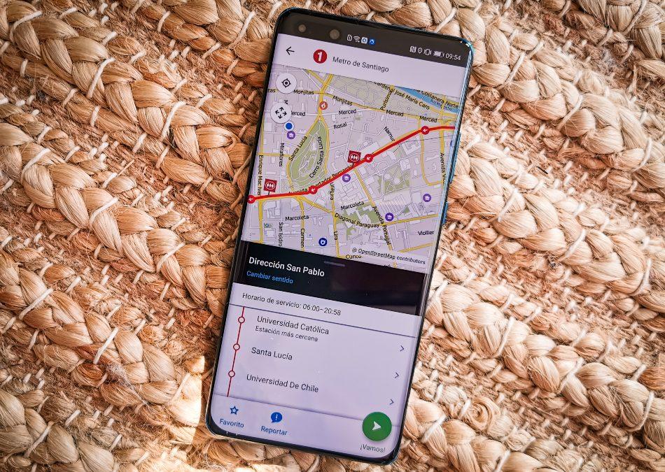 La premiada aplicación Moovit ya está disponible en  AppGallery en Chile