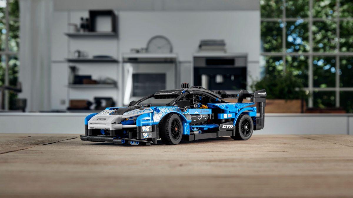 LEGO revela su nuevo Lego Technic McLaren Senna. El regreso de un clásico