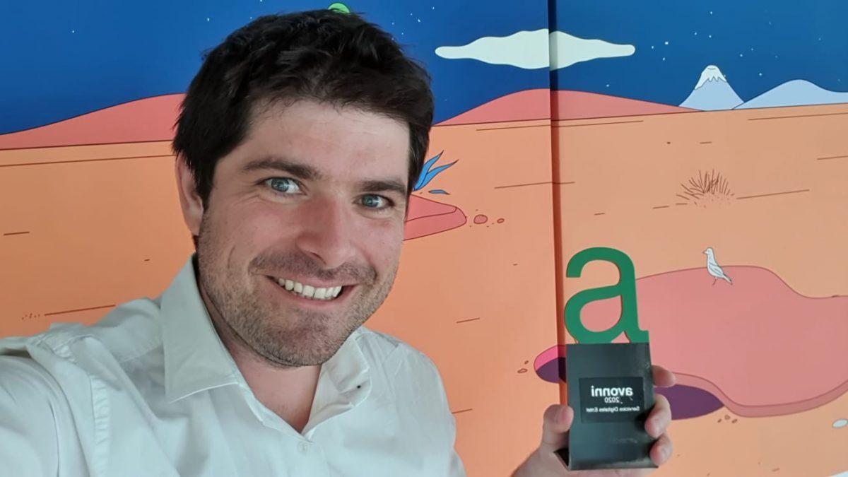 Yapp ganó Premio Avonni en la categoría de Servicios Digitales Entel