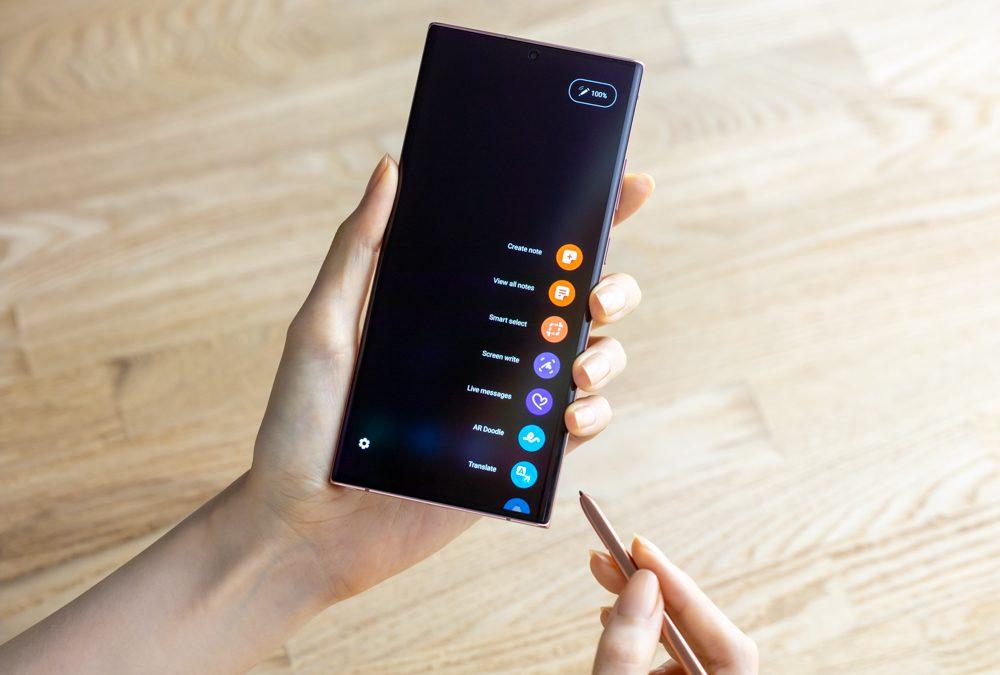 Samsung Notes: descubre la mejorada experiencia de escritura con Galaxy Note20 y Note20 Ultra