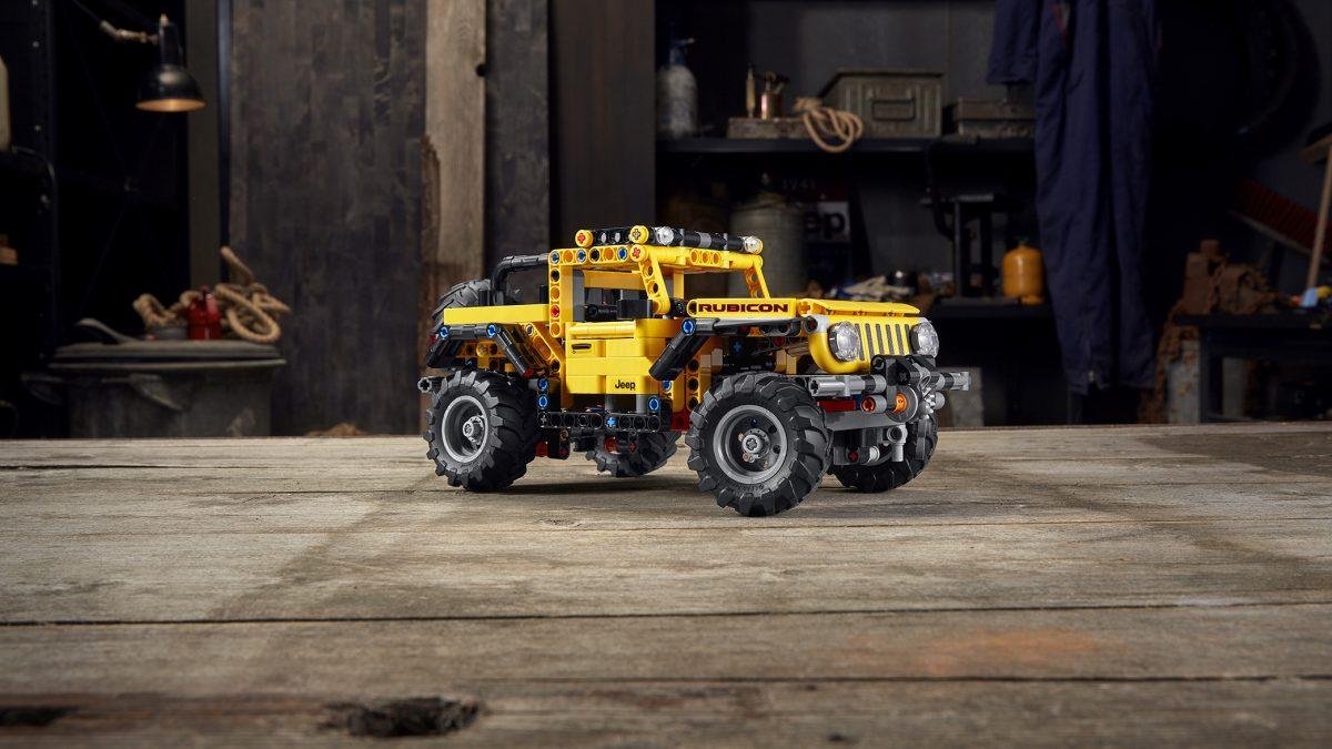 LEGO trae su LEGO® Technic™ Jeep® Wrangler: Haz del mundo tu área de juegos
