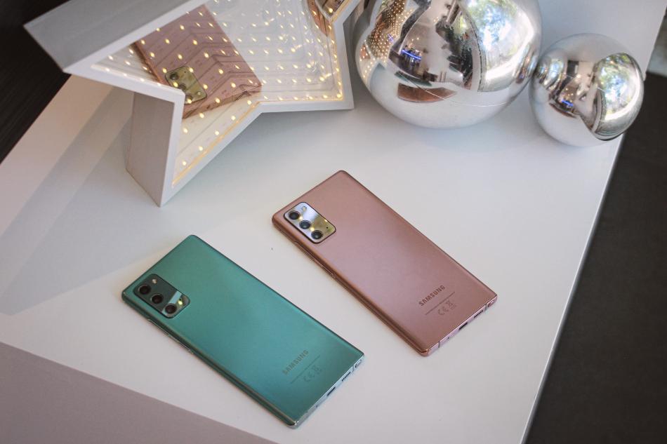 Cinco poderosas razones que convierten al Galaxy Note20 Ultra en el mejor regalo de Navidad
