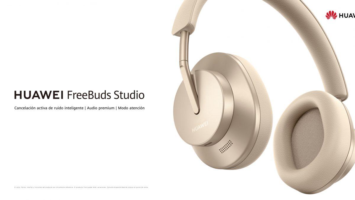 Cambia del trabajo al entretenimiento de forma fluida con los nuevos HUAWEI FreeBuds Studio