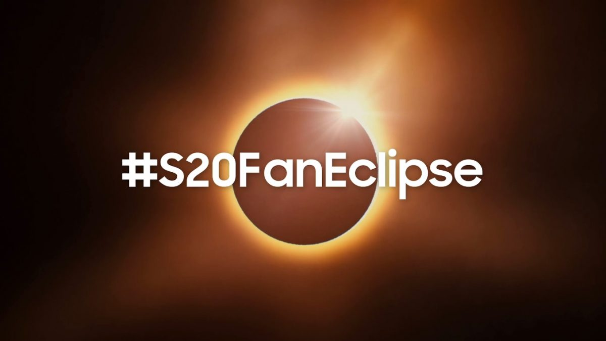 Samsung te invita a tomar la mejor foto del eclipse sobre un avión con un Galaxy S20 FE