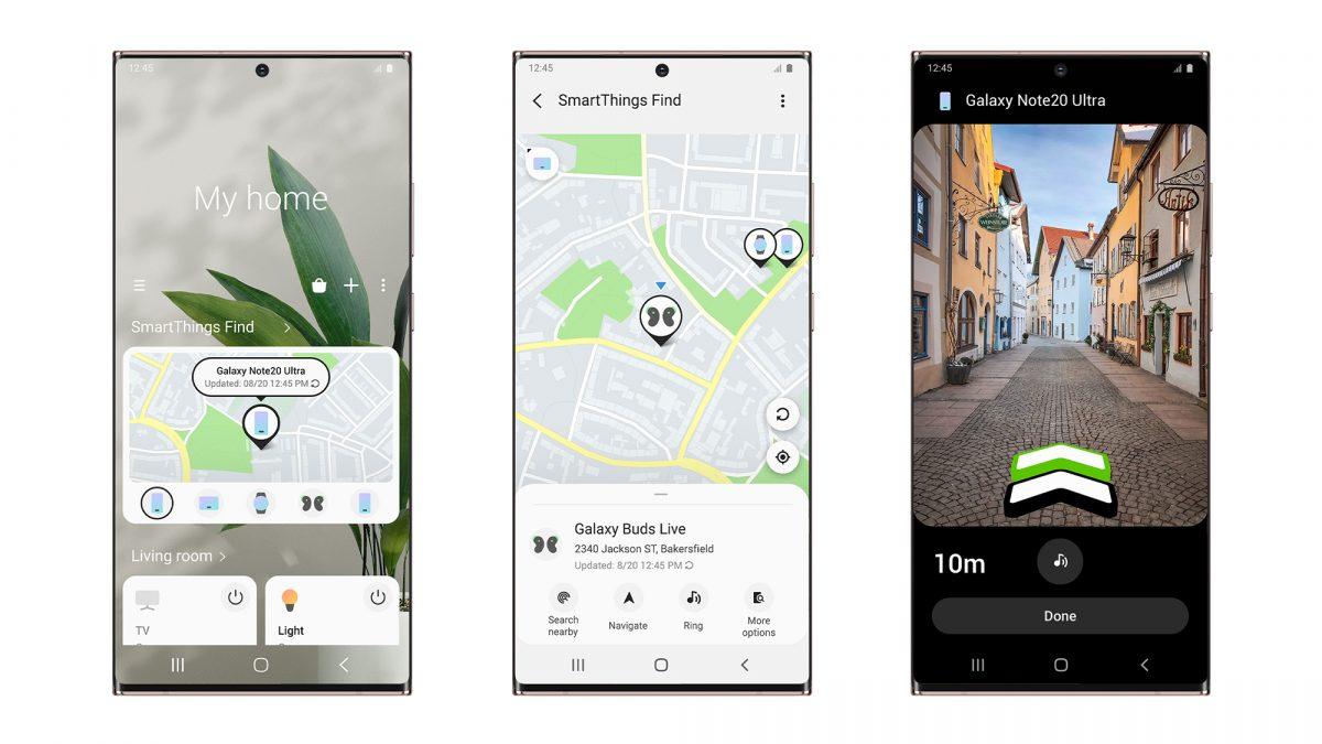 Encuentra fácilmente tus dispositivos Galaxy con SmartThings Find