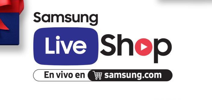 #SamsungLiveShop: Únete hoy martes 15 de diciembre a un programa online de ofertas en vivo