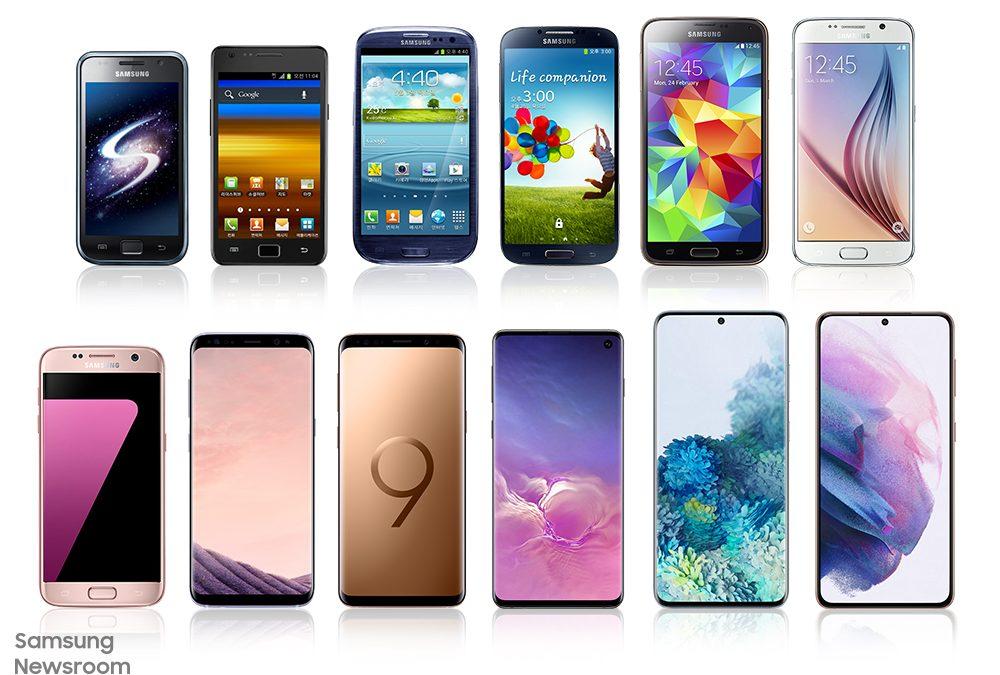 De AMOLED a Space Zoom: la historia de innovación de la serie Galaxy S