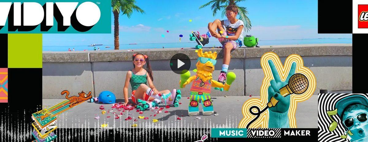 Lego Vidiyo: combinando bloques, música y la tecnología AR