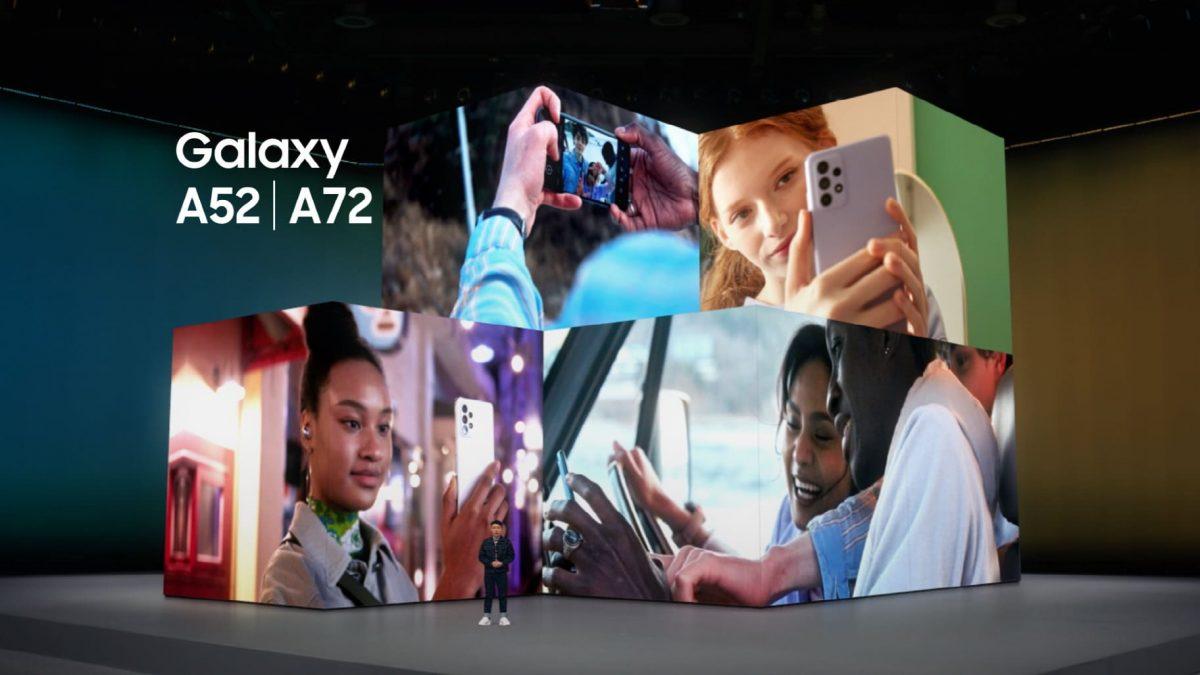 Samsung presenta los nuevos Galaxy A52, A52 5G y A72: Innovación accesible para todos