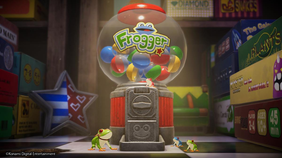 Konami anuncia una nueva actualización para el modo endurance para Frogger in Toy Town