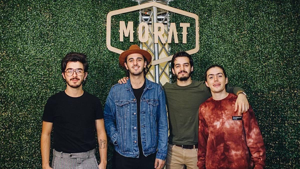 Amazon Prime Video presenta por primera vez en streaming a Morat en concierto