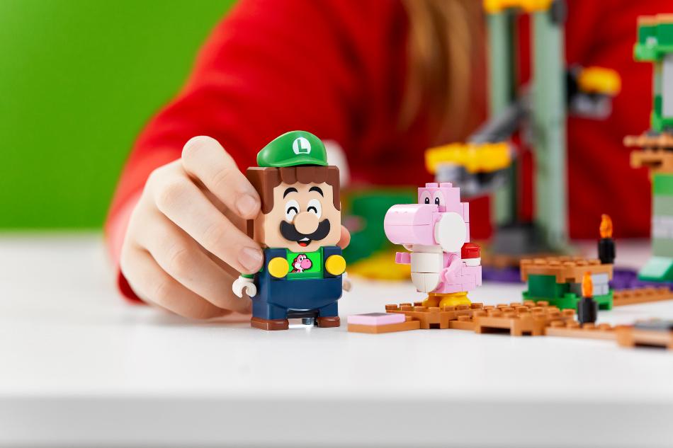 Luigi se une a Mario en el nuevo pack inicial de aventuras de LEGO Super Mario