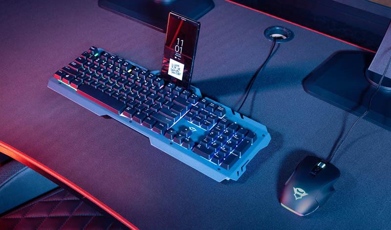 Llegan a América Latina los nuevos teclados para juegos Ziva Rainbow, Thado Tkl, Eska y Odyss de Trust