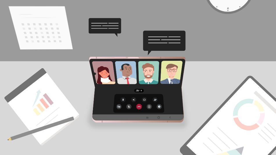 Un día con el Galaxy Z Fold2: por qué es el favorito de emprendedores y profesionales corporativos