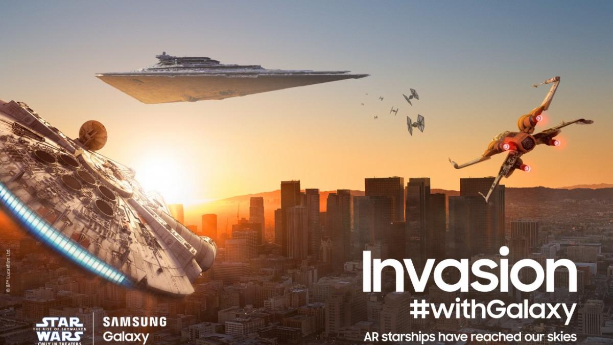 """4 de mayo: En el Día de """"Star Wars"""", Samsung recuerda sus mejores colaboraciones con la franquicia galáctica"""