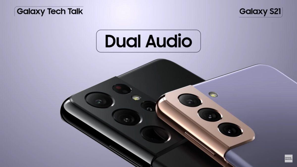¿Cómo habilitar la función Audio Dual del Samsung Galaxy S21 y escuchar música en más de un dispositivo a la vez?