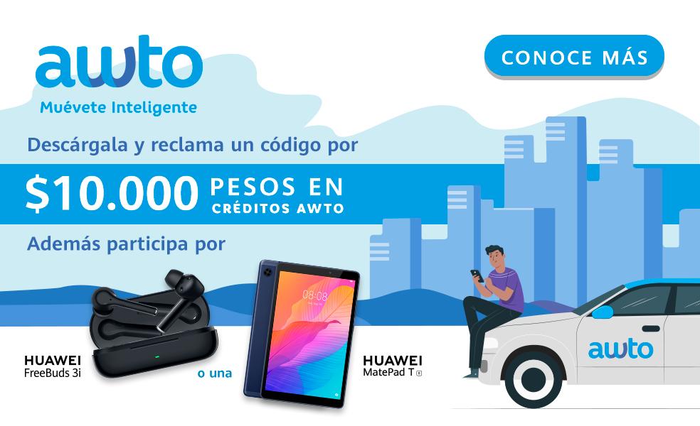 Awto aterriza en la AppGallery de Huawei con cupones de descuento y premios para sus primeros usuarios