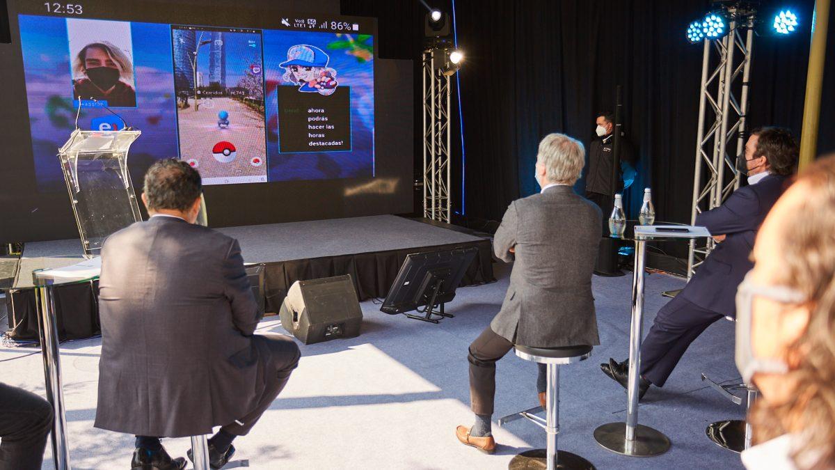Ministerio de Transporte y Entel realizan primera prueba gaming con la tecnología 5G