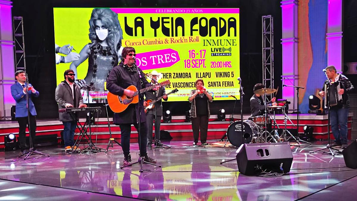 La Yein Fonda celebra su cuarto de siglo con un cartel insuperable para estas Fiestas Patrias