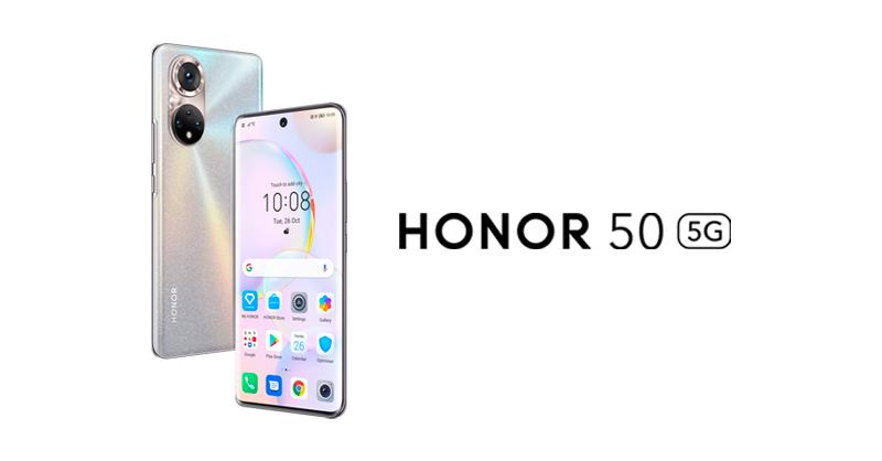 La serie HONOR 50 contará con los Google Mobile Services